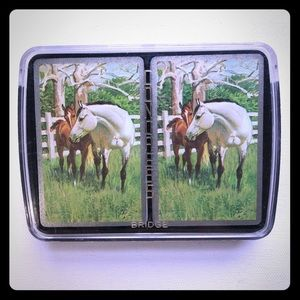 *5/$20* Vintage Horse Playing Cards Double Deck